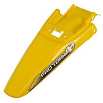 Paralama Traseiro Pro Tork Modelo Crf 230 Amarelo Motocross
