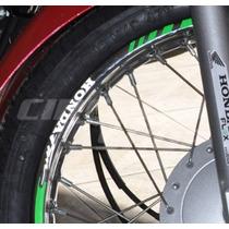 Friso Adesivo Refletivo Personalizado Mod06 Moto Honda Fan