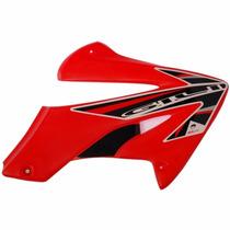 Aletas Laterais Tanque Abas Honda Xr250 Tornado Vermelha