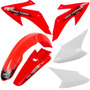 Kit Plasticos Crf 230 Roupa Crf 230 Pro Tork + Brindes