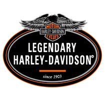 2 Adesivos Legendary Harley Davidson 20x16 P/ Moto Carro Not