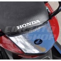 Protetor Relevo Cromo Rabeta Moto Honda Titan Fan 150 10-13