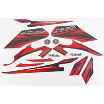 Kit Adesivos Yamaha Xtz 125 2012 Vermelha