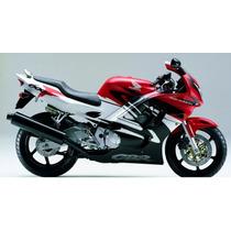 Kit Adesivos Cbr 600f 1997 À 1998 Branca E Vermelha - Decalx