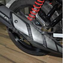 Adesivo Protetor Escape Moto Yamaha Fazer 150 Frete Grátis