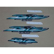 Kit Adesivos Honda Biz 100 Es 2003 Preta