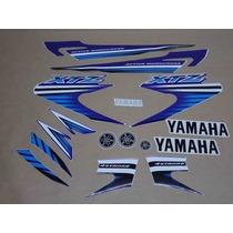 Kit Adesivos Yamaha Xtz 125 2007 Azul