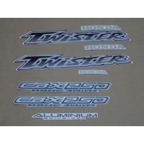 Kit Adesivos Cbx Twister 250 2001 À 2002 Azul - Decalx