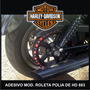 Adesivo Polia Roleta Casino Harley Davidson 883 Rln123