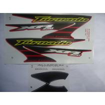 Adesivos Faixa Xr 250 Tornado 06 Vermelha