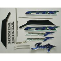 Adesivo Cbx750 F Indy 1992 Verde, Faixa Original Completa