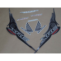 Kit Adesivos Honda Xre 300 2009 A 2010 Preta - Decalx