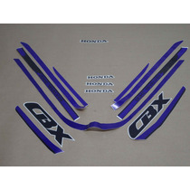 Kit Adesivos Honda Cbx 750 1989 Azul - Decalx