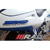 Par De Adesivos Srad Suzuki Ram Air Direct -p/ Rabeta- Gsx-r