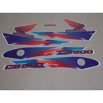 Kit Adesivos Honda Cb500 1998 Prata - Decalx