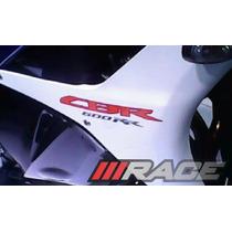Par De Adesivos Cbr600rr Para Moto Honda Carenagem Lateral