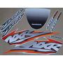 Kit Adesivos Honda Nxr150 Esd Bros 2004 Branca - Decalx