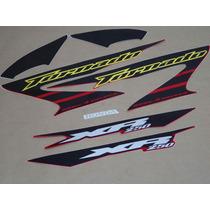 Kit Adesivos Honda Xr 250 Tornado 2006 Vermelha - Decalx
