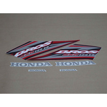 Kit Adesivos Honda Nxr125 Es Bros 2005 Vermelha - Decalx