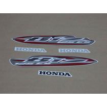Kit Adesivos Honda Biz 125 Es 2008 Cinza - Decalx