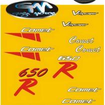 Kit Adesivo Logos Kasinki Comet / Hyosung Gtr 250 / 650