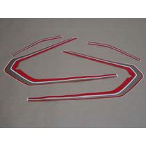 Kit Adesivos Honda Ml 125 1982 Vermelha E Preta - Decalx