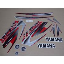 Kit Adesivos Yamaha Xtz 125 2006 Vermelha - Decalx