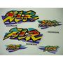 Adesivo Xlr125 1998 Branca, Faixa Original Completa