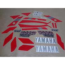 Kit Adesivos Yamaha Rd350 1989 Preta - Decalx