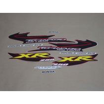 Kit Adesivos Honda Xr 250 Tornado 2005 Vermelha - Decalx