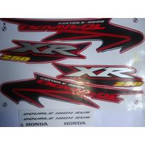 Adesivos Xr 250 Tornado 04 Vermelha Frete Grátis