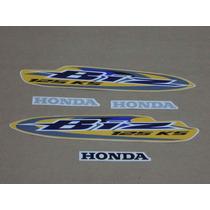 Kit Adesivos Honda Biz 125 Ks 2008 Amarela - Decalx