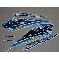 Kit Adesivos Honda Nxr 125 Es Bros 2004 Branca - Decalx