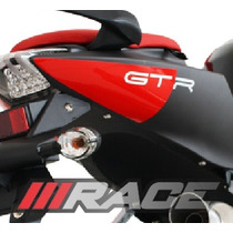Novo Par De Adesivo Para Moto Comet Efi Gtr Lateral Rabeta