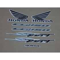 Kit Adesivos Honda Cg Titan 150 Sport 2007 Prata - Decalx