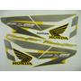 Adesivo Twister 2007 Amarela, Faixa Original Completa
