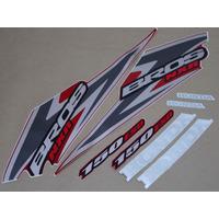 Kit Adesivos Honda Nxr150 Esd Bros 2006 Vermelha - Decalx