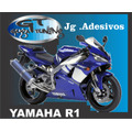 Kit De Adesivo P/ Moto Yamaha R1 2001 (paralelo)