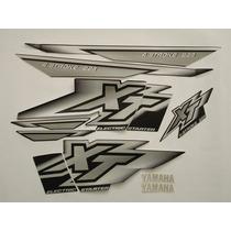 Adesivo Xt225 2001 Preta, Faixa Original Completa