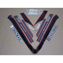 Kit Adesivos Honda Cbx 750 1988 Preta - Decalx