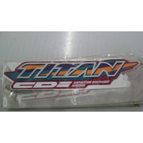 Adesivo Tampa Lateral Honda Titan125 98 (par)
