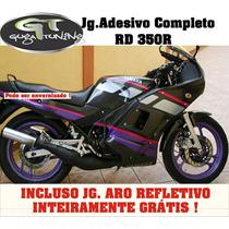 Kit Adesivo P/ Yamaha Rd 350r C/ Aros Refletivos Grátis