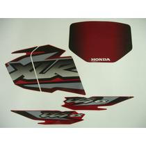 Adesivo Xlr125 2002 Es Vermelha, Faixa Original Completa