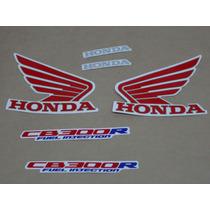 Kit Adesivos Honda Cb300r 2012 Branca - Decalx