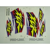 Adesivo Xlr125 1999 Branca, Faixa Original Completa