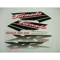 Adesivo Tornado 2003 Branca, Faixa Original Completa