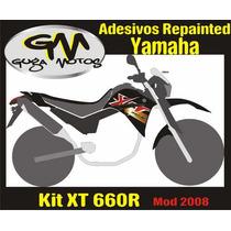 Adesivo P/ Yamaha Xt 660r 2008/2009/2010 & Motard Xtx 660r