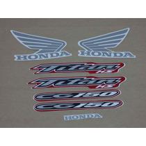 Kit Adesivos Honda Cg Titan 150 Ks 2004 Vermelha - Decalx