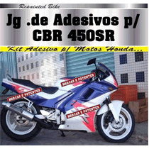 Adesivo Completo Compatível P/ Cbr 450sr ( Paralelo)
