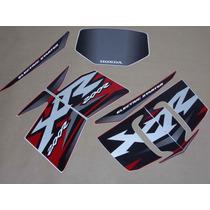 Kit Adesivos Honda Xr 200r 2002 Vermelha - Decalx